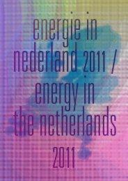Energie in Nederland 2011 - Energie-Nederland