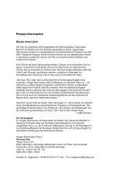 Callwey Verlag: Bauen ohne Limit - die neue Villa