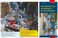 Informationen zur Vermüllung in Privatwohnungen - Stadt Nürnberg