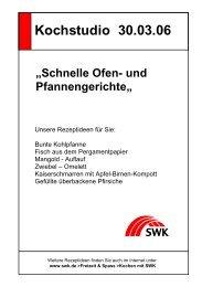 Schnelle Ofen- und Pfannengerichte (PDF; 34,37 kB