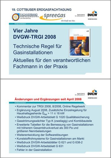 DVGW-TRGI 2008 Arbeitsblatt G 600 - wolfi-wenger.de