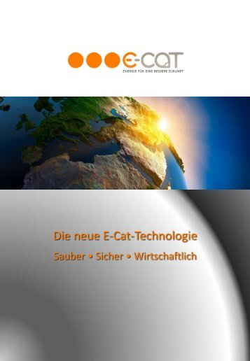 Die neue E-Cat-Technologie - Everyday Feng Shui