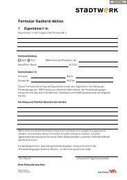 Formular Gasherd-Aktion 1 Eigentümer - Stadtwerk Winterthur