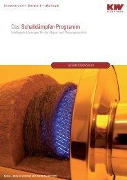 Das Schalldämpfer-Programm - Kutzner+Weber