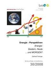 Energie - NachhaltigWirtschaften.at