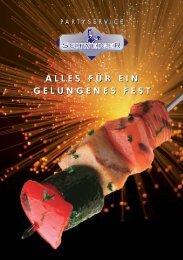 Partyservice Layout - Partyservice Schweiger
