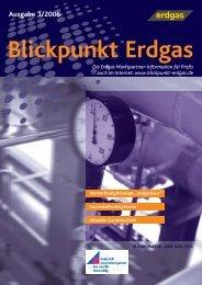 www.blickpunkt-erdgas.de Ausgabe 1/2006 - freter Gbr