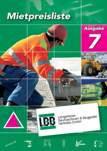 LBB - Leingartener Baumaschinen Baugeräte-Vertriebs GmbH