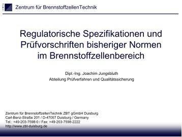 DIN EN 62282-3 - Zentrum für BrennstoffzellenTechnik GmbH