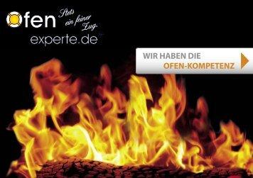 WIR HABEN DIE OFEN-KOMPETENZ - Ofenexperte.de