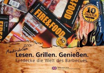 AnzEIgEn- pREIsüBERsIcht - Fire & Food