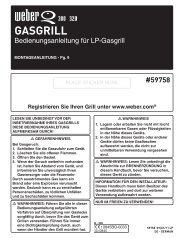 GASGRILL - Weber-Stephen