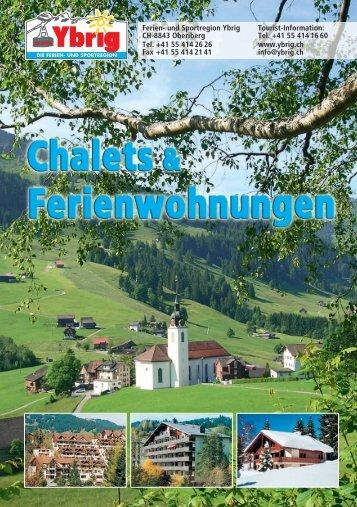 Das Ski- und Wanderparadies - und Sportregion Ybrig