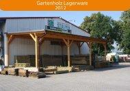 Gartenholz Übersicht Lagerware - BS Baustoffcenter St..