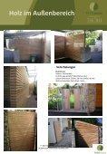 Holz im Außenbereich - Teak Austria - Seite 4