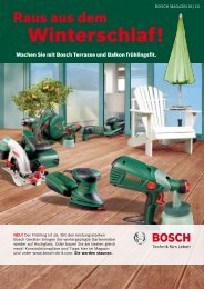 PDF - 4,8 MB - Bosch Elektrowerkzeuge für Heimwerker