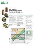 Gewinde- Einsätze für Kunststoffe und Holz - Seite 6