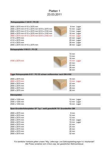 preisliste 2007 bieten holz factory. Black Bedroom Furniture Sets. Home Design Ideas