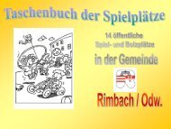 Spielgeräte - Rimbach im Odenwald