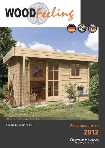 Blockbohlenhäuser - Woodfeeling