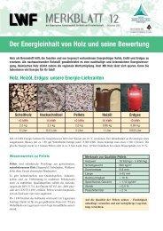 LWF-Merkblatt 12 - Bayerische Landesanstalt für Wald und ...