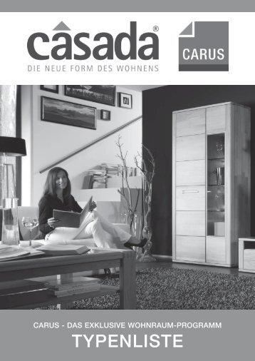 Typenplan herunterladen - Casada