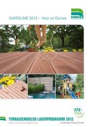 terrassendielen lagerprogramm 2012 - Burger Holzzentrum