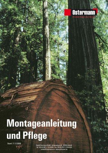 und Pflegeanleitung für Massivholz-Arbeitsplatten - Schreinerei ...