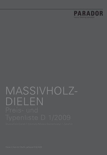 Massivholz-Dielen Classic - Nutzholz May