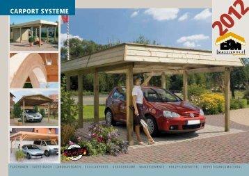 "Katalog ""Carport Systeme 2012"" - bm massivholz"