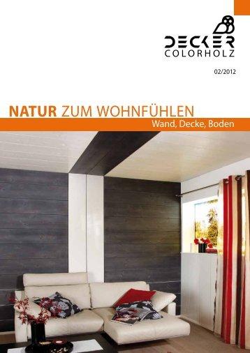 als PDF herunterladen - Decker Holz