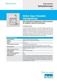 Herbol-Aqua-Fassaden- Imprägnierung - Akzonobel