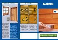 Tipps und Tricks Lasuren (PDF, 1.6 MB) - Raiffeisen Baucenter