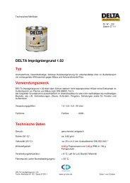 TM-DELTA-Imprägniergrund 1.02-250711 - CD-Color GmbH & Co.KG