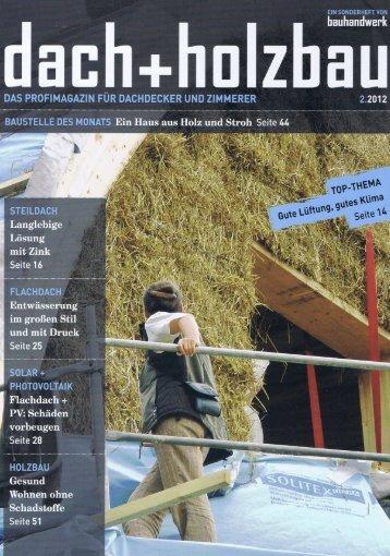 Dach und Holzbau, 2/2012 - Shakti Haus