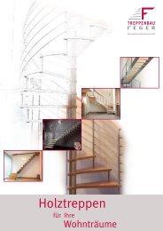 Holztreppen - Treppenbau Feger