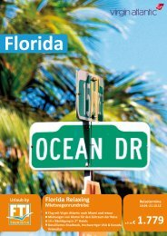 Florida Relaxing Mietwagenrundreise - Komet-Reisen