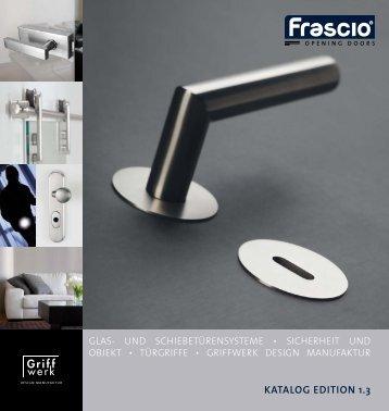 KATALOG EDITION 1.3 - Frascio