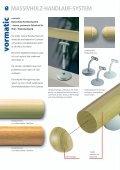 Massivholz- Handlauf-System - Vormann - Seite 2