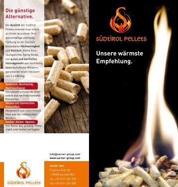 Südtirol Pellets - Sarner Group
