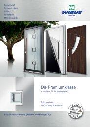 Prospekt hier herunterladen - Türen-Fenster-Portal
