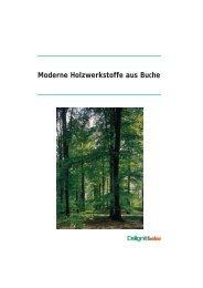 Moderne Holzwerkstoffe aus Buche - Delignit