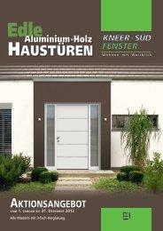 Edle Aluminium-Holz Haustüren - bodaechtel.de