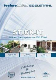STICK-IT - technometall EDELSTAHL