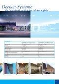 Decken-Systeme für den Innen- und Außenbereich. - Seite 3