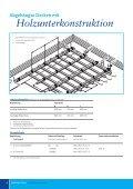 Decken-Systeme für den Innen- und Außenbereich. - Seite 6