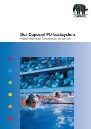 Das Capacryl PU-Lacksystem