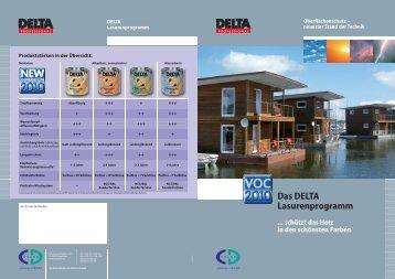 Lasur plus und DELTA Langzeit - CD-Color GmbH & Co.KG