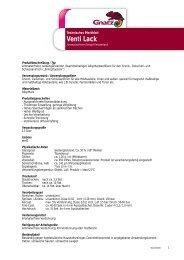 Venti Lack - Louis Gnatz GmbH