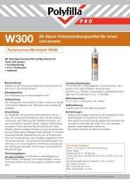 2K-Epoxi-Holzreparaturspachtel für innen und aussen - Akzonobel